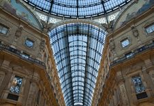 Free Milan Luxuous Shopping Mall Stock Photography - 16120272