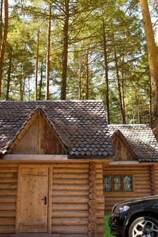 House  Log  Pine Royalty Free Stock Image