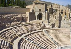 Free Roman Theatre Royalty Free Stock Images - 16120809