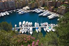 Marina In Monaco Royalty Free Stock Photo