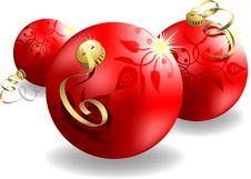 Free Eps8 3d Christmas Ball Stock Photography - 16121162