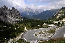 Free Landscape Dolomites Stock Photography - 16121302