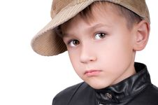 Free Young Boy In Hat Royalty Free Stock Image - 16121466