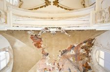 Frescoes On The Ceiling Royalty Free Stock Photography