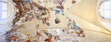 Free Frescoes On The Ceiling Royalty Free Stock Photography - 16121757