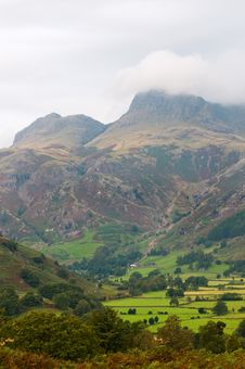 Langdale Pikes Stock Photography