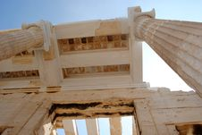 Free Propylaea Close Up View Royalty Free Stock Photos - 16122998