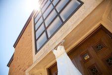 Free Ivory Wedding Dress Royalty Free Stock Photos - 16123298