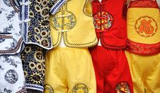 Free Clothing For Children In Chinese Style Royalty Free Stock Photos - 16123968
