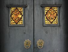 Free Antique Door Royalty Free Stock Photography - 16124277