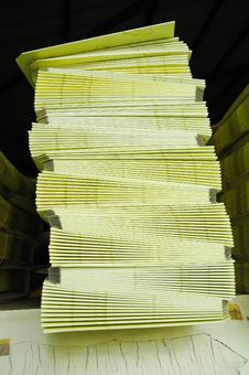 Paper Stack Stock Images