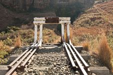 Free Abandoned Railway Tracks Royalty Free Stock Photo - 16124605