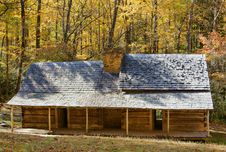 Free Cabin In The Smokies Royalty Free Stock Image - 16124636