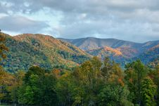 Free Morning Light Upon The Smokies Stock Photos - 16125073