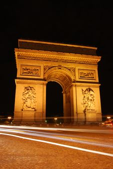 Arc Of Triumph Royalty Free Stock Images