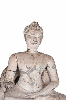 Free Ruin Of Buddha Royalty Free Stock Image - 16125276