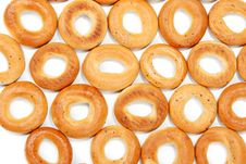 Free Tasty Bagels Put In The Manner Of Background Stock Photography - 16125952