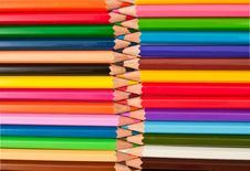 Free Colored Pencils Royalty Free Stock Photography - 16126307
