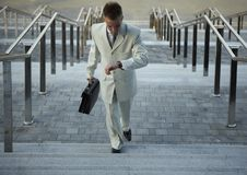 Free Portrait Of Businessman On The Street Royalty Free Stock Image - 16126706