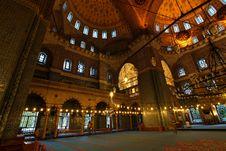 Yeni Camii, Istanbul - Interior Stock Photography