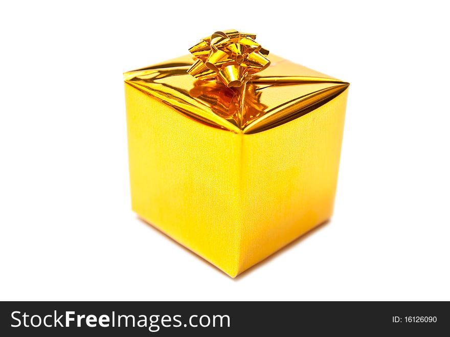 Small yellow present