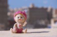 Free Baby Ceramic Toy Stock Photo - 16139240