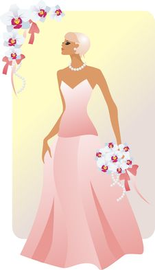 Free Bride Blonde Royalty Free Stock Image - 16146436
