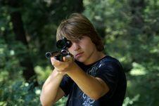 Free Shooter Royalty Free Stock Image - 16146646