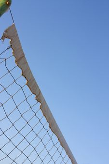 Free Sports Net Viewed From Below Stock Photos - 16147363