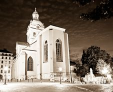 Free Sankt Jakobs Kyrka Church In Stockholm Royalty Free Stock Images - 16147769