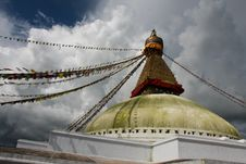 Free Boudhanath Stupa Royalty Free Stock Images - 16147869