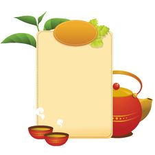Free Tea Menu Royalty Free Stock Photos - 16148478