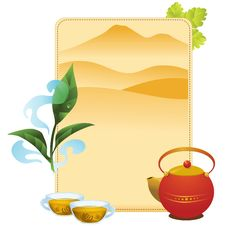 Free Tea Menu Stock Photography - 16148492