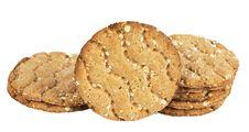 Free Round Crispbread Stock Images - 16148964