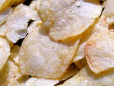Free Potato Crisps Detail Stock Photography - 16149132