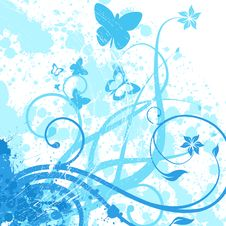 Free Floral Background Royalty Free Stock Image - 16149196