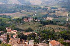 Free San Gimignano,Tuscany Stock Images - 16149354