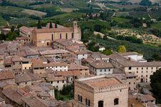 Free San Gimignano,Tuscany Royalty Free Stock Photo - 16149375