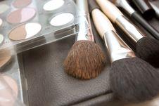 Free Brushes To Make-up Stock Image - 16149731