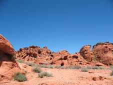 Free Valley Of Fire Nevada Stock Photography - 16149812