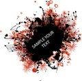Free Music Grunge Frame Red Royalty Free Stock Photos - 16155658