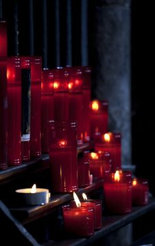Free Candles Close-up Stock Photography - 16150082