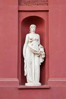 Free Muse Statue Stock Photography - 16150392