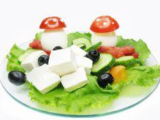 Free Creative Vegetable Salad Stock Image - 16150751