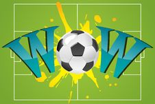 Free Wow With Soccer Ball Royalty Free Stock Images - 16150959