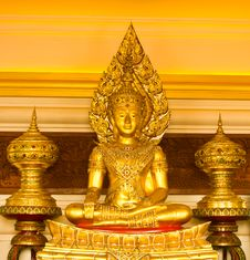 Free Golden Buddha Stock Photo - 16151100