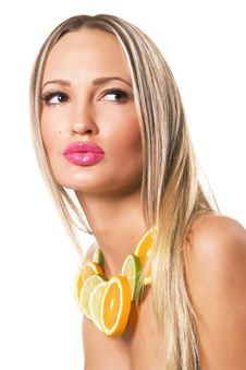 Free Citrus Beauty Royalty Free Stock Photography - 16151327
