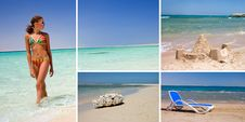 Free Rest On A Beach- Summer Concept Royalty Free Stock Image - 16152406