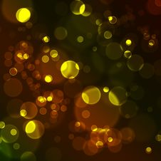 Free Abstract Glowing Circles Royalty Free Stock Photos - 16152668