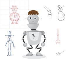Free Robot Design Stock Images - 16153044